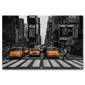 Αφίσα (αυτοκίνητα, ταξί, δρόμος)